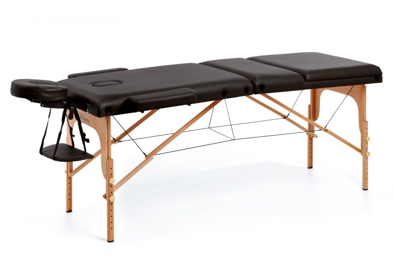 Stol za masažu  FORTUNA CRNA