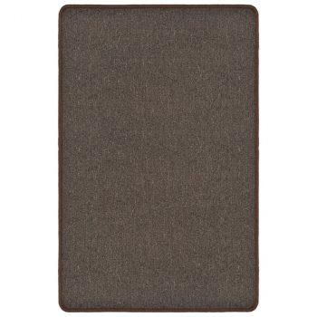 Čupavi tepih 120x180 cm smeđi