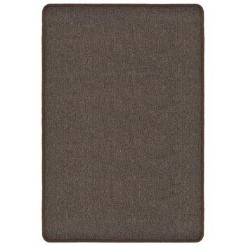 Čupavi tepih 160 x 230 cm smeđi