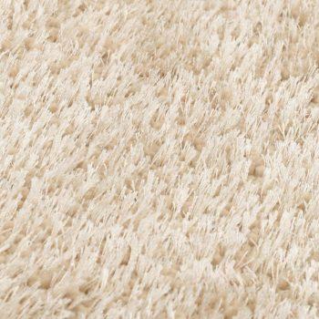 Čupavi ukrasni tepih 160 x 230 cm bež