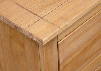 2-dijelni set toaletnog stolića od borovine asortiman Panama