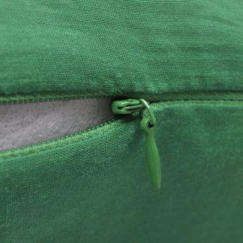 4 Zelene Jastučnice Pamuk 40 x 40 cm