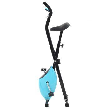 Bicikl za vježbanje X-Bike s remenom za otpor plavi