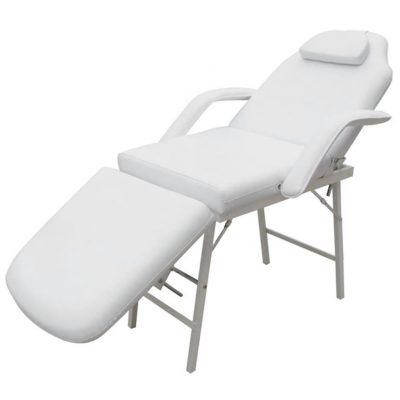 Bijela masažna fotelja za tetovaže