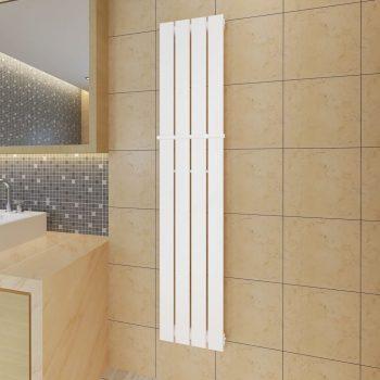 Bijeli radijator za kupaonicu s držačem za ručnike 311mm x 1500mm