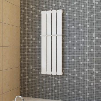 Bijeli radijator za kupaonicu s držačem za ručnike 311mm x 900mm