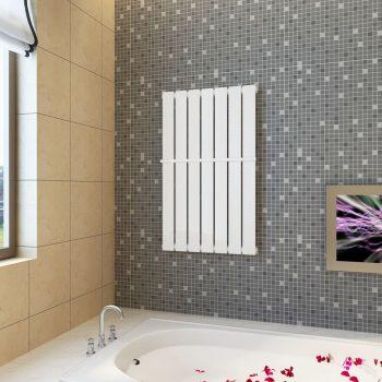 Bijeli radijator za kupaonicu s držačem za ručnike 542mm x 900mm