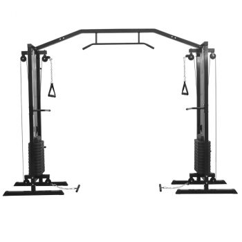 Cable Crossover Sprava za Vježbanje 315 cm Crna