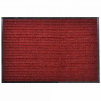 Crveni otirač protiv klizanja za vrata 90 x 150 cm