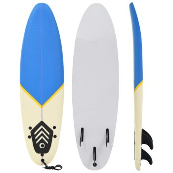 Daska za surfanje 170 cm plava i krem