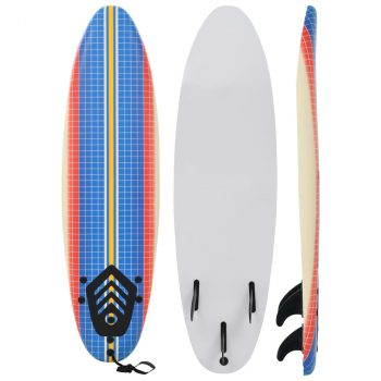 Daska za surfanje 170 cm s mozaikom