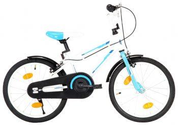 Dječji bicikl 18 inča plavo-bijeli