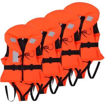 Dječji prsluci za spašavanje 4 kom 100 N 10 - 20 kg