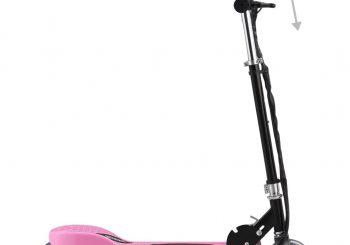 Električni skuter 120 W ružičasti