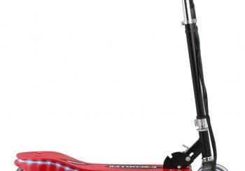 Električni skuter s LED svjetlima 120 W crveni