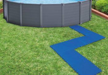 Intex zaštitne podloge za dno bazena 8 kom 50 x 50 cm plave