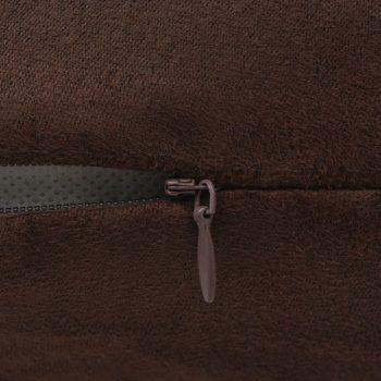 Jastučnice 4 kom 50x50 cm Poliester Umjetni Antilop Smeđe