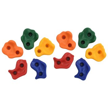 Kamenje za penjanje 10 kom raznobojno PE