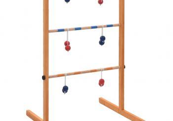 Ljestve s lopticama za igru drvene