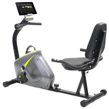 Magnetski ležeći bicikl za vježbanje s mjerenjem pulsa