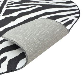 Oblikovani Tepih 70x110 cm Zebra print