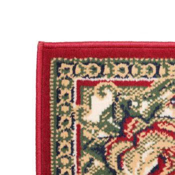 Orijentalni tepih perzijskog dizajna 160 x 230 cm crveni/bež