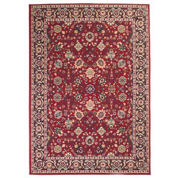 Orijentalni tepih perzijskog dizajna 80 x 150 cm crveni/bež