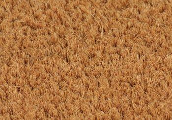 Otirač od kokosovih vlakana 17 mm 100x100 cm prirodne boje