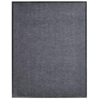 Otirač sivi 160 x 220 cm PVC