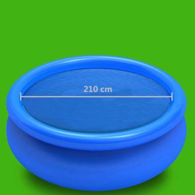 Pokrivač za bazen plavi 210 cm PE