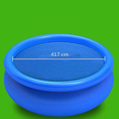 Pokrivač za bazen plavi 417 cm PE