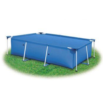 Pokrivač za bazen plavi 975 x 488 cm PE