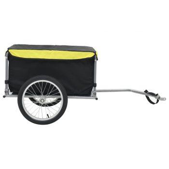 Prikolica za bicikl crno-žuta 65 kg