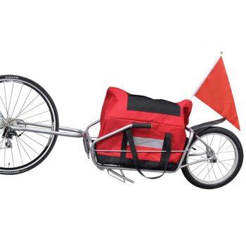 Prikolica za bicikle s torbom za pohranu