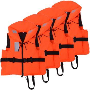 Prsluci za spašavanje 4 kom 100 N 70 - 90 kg