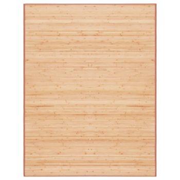 Tepih od bambusa 150 x 200 cm smeđi