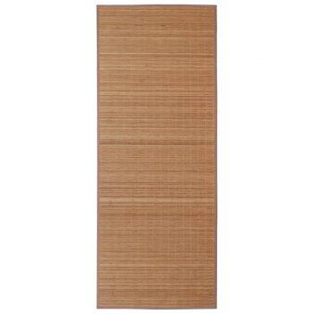 Tepih od bambusa 160 x 230 cm smeđi