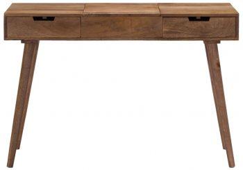 Toaletni stolić od masivnog drva manga 112 x 45 x 76 cm