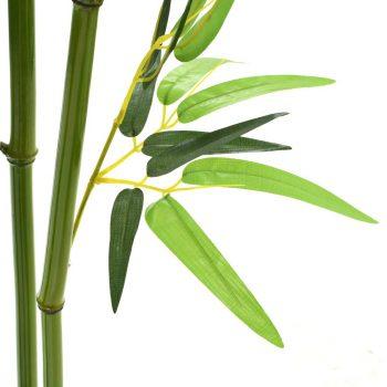 Umjetna biljka bambusa s lončanicom 150 cm zelena