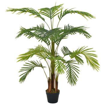 Umjetna palma s posudom zelena 120 cm