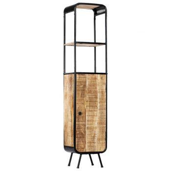 Visoka komoda od grubog masivnog drva manga 40 x 30 x 180 cm