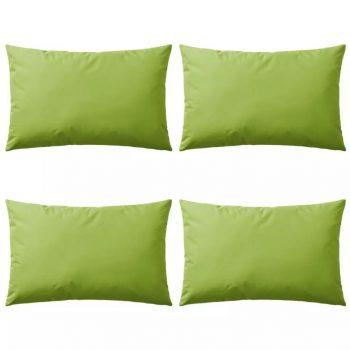 Vrtni jastuci 4 kom 60 x 40 cm zeleni