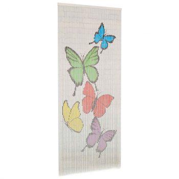 Zavjesa za vrata protiv insekata od bambusa 90 x 200 cm
