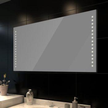 Zidno Ogledalo za kupaonicu s LED svjetlom 100 x 60 cm ( D x Š)