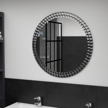 Zidno ogledalo srebrno 70 cm od kaljenog stakla