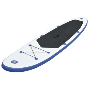 Daska na napuhavanje za veslanje stojeći plavo-bijela