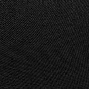 Modularni tabure s jastukom od tkanine crni