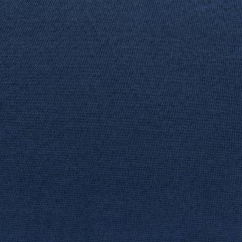 Modularni tabure s jastukom od tkanine plavi