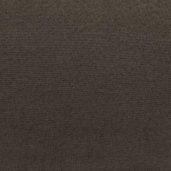 Modularni tabure s jastukom od tkanine smeđe-sivi