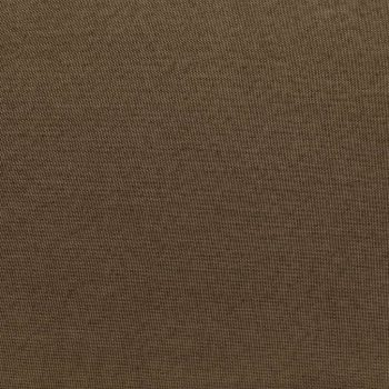 Modularni tabure s jastukom od tkanine smeđi